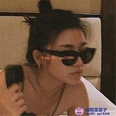 歐美蹦迪墨鏡女韓版潮ig復古貓眼眼鏡網美街拍沙灘太陽鏡女個性【櫻桃菜菜子】