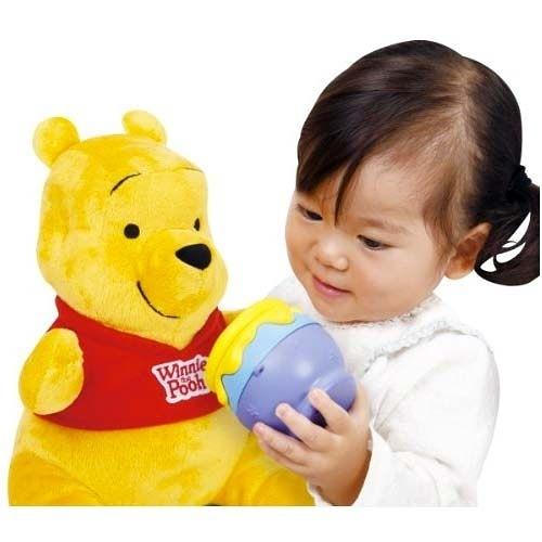 【震撼精品百貨】迪士尼幼兒~維尼熊與蜂蜜罐玩偶【共1款】