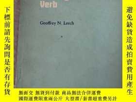 二手書博民逛書店Meaning罕見and the English VerbY27