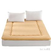 床墊1.5m床學生宿舍0.9m羊羔絨加厚保暖鋪床墊被雙人床褥子榻榻米 QQ10610『bad boy時尚』