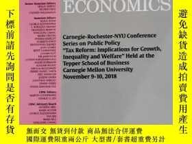 二手書博民逛書店journal罕見of monetary economics 2019年8月 英文版Y42402