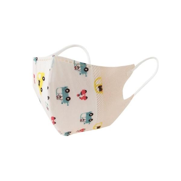 兒童口罩3D立體一次性三層0-3歲獨立包裝嬰幼兒2歲小學生寶寶防護 錢夫人 夏季特惠