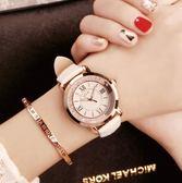 手錶 女士女學生韓版簡約潮流大氣水鑚防水 - 歐美韓