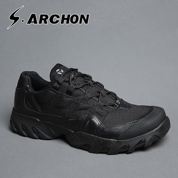 春秋超輕作戰靴軍靴男特種兵透氣陸戰術靴戶外登山鞋作訓靴沙漠靴