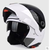 艾獅頭盔男女摩托車夏季揭面盔全盔四季藍牙個 【熱賣新品】 LX