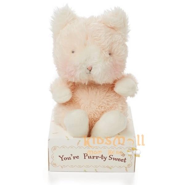 美國Bunnies By The Bay海灣兔,小貓咪盒裝玩偶(11CM),Wittle Kitty-Pink