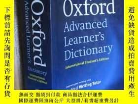 二手書博民逛書店Oxford罕見Advanced Learner s Dictionary (8th Edition)Y546