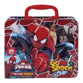 蜘蛛人手提鐵盒拼圖