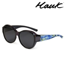 HAWK 新型薄框偏光太陽眼鏡套鏡(2用)HK1029-99
