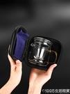 玻璃旅行茶具套裝功夫快客杯一壺兩杯小套單人小號便攜泡茶壺茶杯 1995生活雜貨
