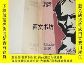 二手書博民逛書店【罕見】1958年紐約出版名著 波德萊爾作品 《惡之花 》傑夫