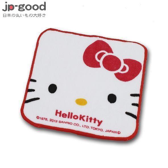 HELLO KITTY 四方小方巾 16x16cm