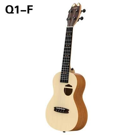 populele智能尤克裏裏23寸小吉他初學者學生兒童成人女烏克麗麗