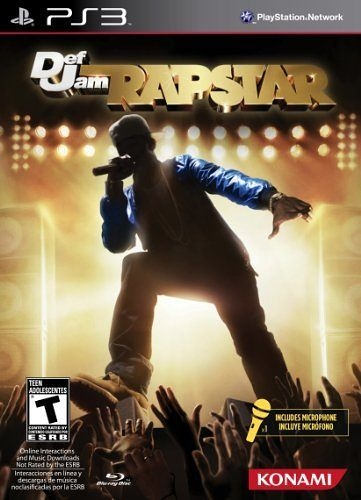 PS3 Def Jam Rapstar Bundle(美版代購)