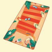 PRIDONNA旅行超輕 速乾浴巾 沙灘墊巾飛機毯吸水運動游泳超大毛巾
