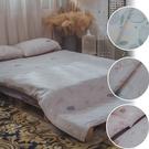 二層紗 Q1 雙人加大床包三件組 多款任選 台灣製造 柔軟親膚 棉床本舖