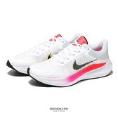 NIKE 慢跑鞋 ZOOM WINFLO 8 白桃 氣墊 輕量 男 (布魯克林) CW3419-100