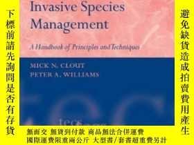 二手書博民逛書店【罕見】2009年出版 Invasive Species Man