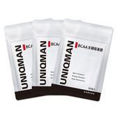 UNIQMAN-BCAA支鏈胺基酸(3袋組)(30顆/袋)