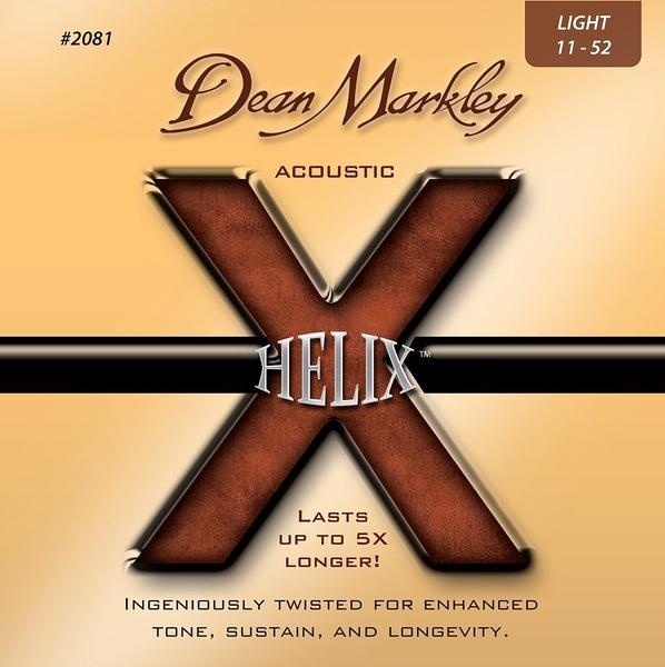 小叮噹的店-Dean Markley 2081 木吉他弦  Helix HD 80/20, Light, 11-52