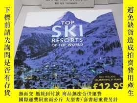 二手書博民逛書店Top罕見Ski Resorts of the World 世界