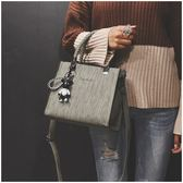 秋冬新款女包韓版潮時尚女士單肩包百搭手提包斜挎方包包跨包 衣櫥秘密