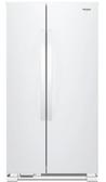 Whirlpool惠而浦 640L白色無邊框玻離 對開門電冰箱 8WRS21SNHW⊙台灣惠而浦代理