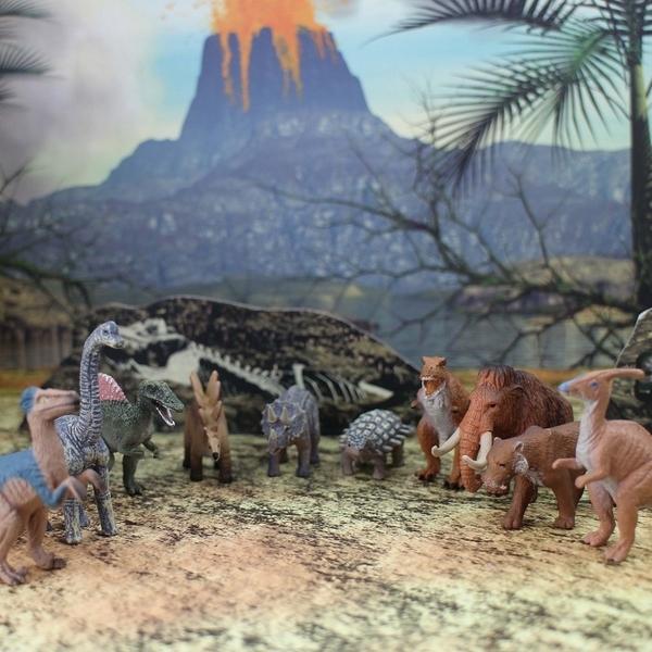 《MOJO FUN動物模型》動物星球頻道獨家授權 -迷你史前動物系列共十款