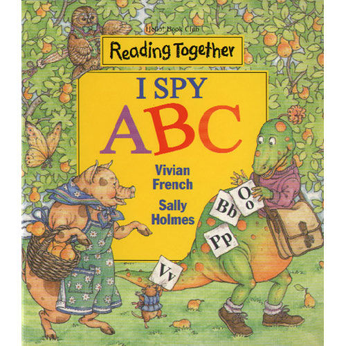 【Reading Together】I Spy ABC(1Book + 1CD)