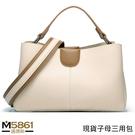 【女包】簡約撞色三用小包 子母袋中袋設計...