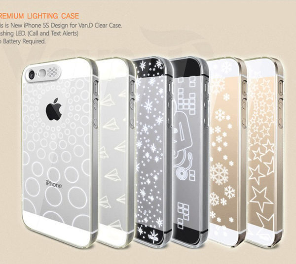 【00185】 [Apple iPhone 6 4.7吋 / 6 Plus 5.5吋 ] 來電發光保護殼