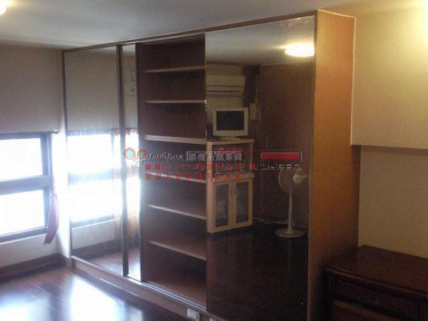 歐雅系統家具 ,整套系統臥房 明鏡拉門 ,衣櫃 B0015