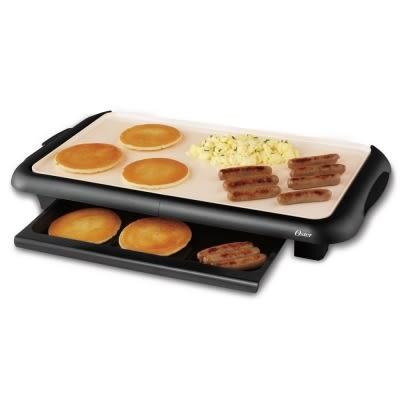 美國OSTER BBQ陶瓷電烤盤 (CKSTGRFM18W-TECO)