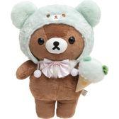 尼德斯Nydus 日本正版  San-X 拉拉熊 懶熊 懶妹  可愛造型 玩偶