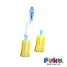 PUKU 藍色企鵝 組合式奶瓶刷組 1刷+1刷頭