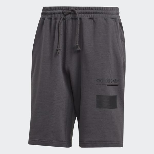 ADIDAS ORIGINAL OUTLINE SHORTS 短褲 深灰 棉褲 男 (布魯克林) DV1928