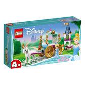 LEGO樂高 DISNEY 41159 Cinderella's Carriage Ride 積木 玩具