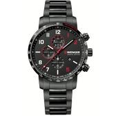 瑞士WENGER Attitude Chrono計時時尚腕錶 01.1543.125
