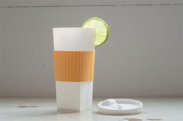折折杯 20oz/綠松石色杯套【福爾福】