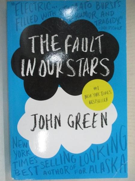 【書寶二手書T4/原文小說_CS8】The Fault in Our Stars_John Green