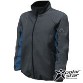 PolarStar 男 Soft Shell保暖外套『黑藍』P18211 戶外 休閒 登山 露營 保暖 禦寒 防風