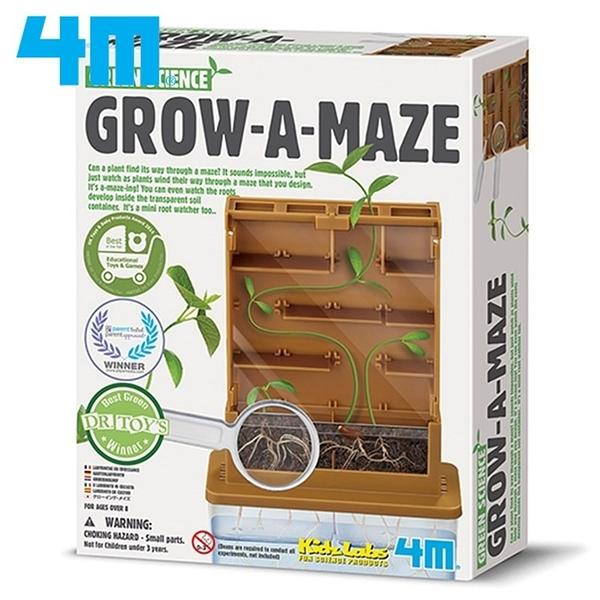 又敗家4M綠色科學Green Science植物迷宮Grow-A-Mate認識植物生長00-03352《15年德國紅點獎