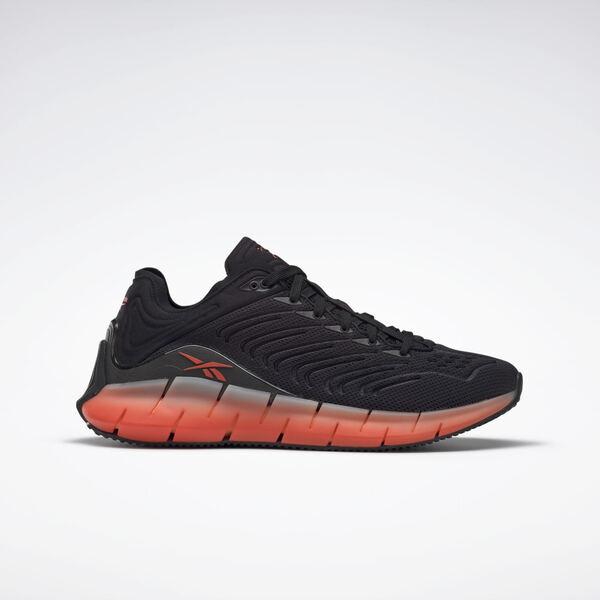 Reebok Zig Kinetica [EH1724] 男鞋 運動 慢跑 支撐 透氣 輕巧 緩衝 情侶 穿搭 黑橘