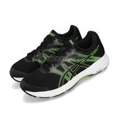 Asics 慢跑鞋 Gel-Exalt 5 黑 綠 低筒 男鞋 運動鞋 【PUMP306】 1011A162002