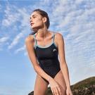 ≡MARIUM≡ MAR-20093W 大女競賽型泳裝(細肩)-淺藍