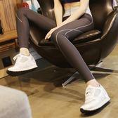 黑五好物節 彩線高腰顯瘦運動長褲緊身速干高彈力健身跑步壓縮褲休閒女瑜伽褲 艾尚旗艦店