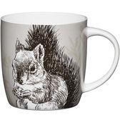 《KitchenCraft》骨瓷馬克杯(松鼠)