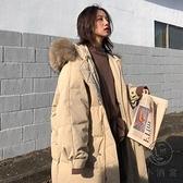 羽絨棉服女冬中長款歐貨爆款棉衣冬季外套女【小酒窩服飾】