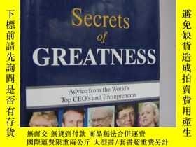 二手書博民逛書店Secrets罕見of Greatness: Advice fr