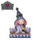 【正版授權】Enesco 屹耳 生日帽 塑像 公仔 精品雕塑 小熊維尼 迪士尼 Disney - 282487